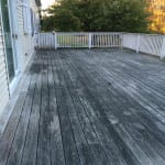 WOOD DECK RESTORATION   BEFORE