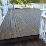 WOOD DECK RESTORATION AFTER