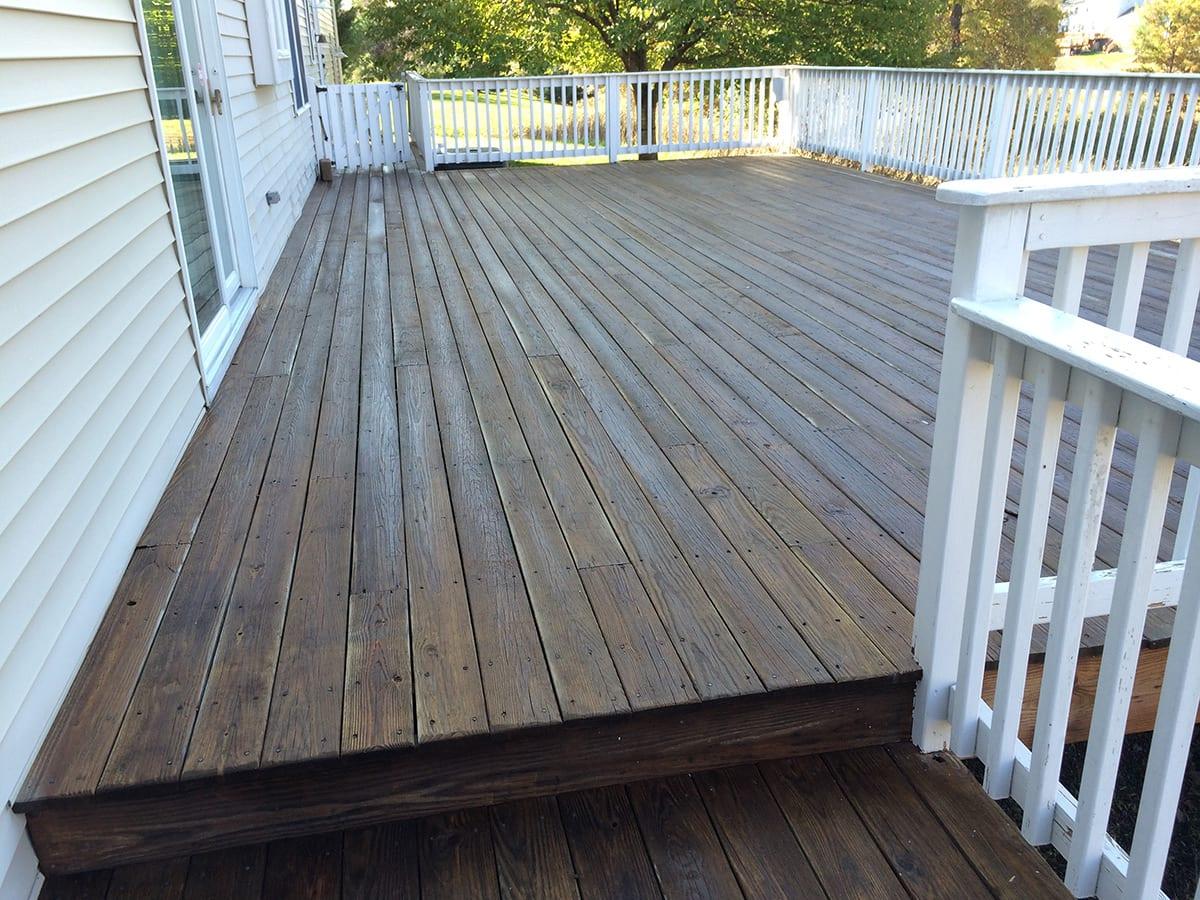 Wood Deck Restoration New Jersey Psi Pressure Washing