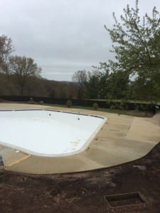 Pool Deck After Cleaning