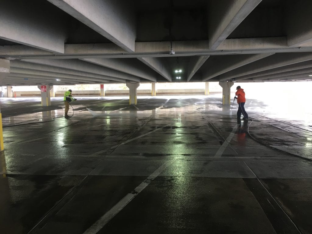 Parking Garage & Concrete Cleaning NJ
