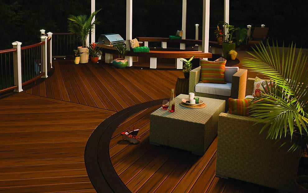 Trex Deck Cleaning Gallery