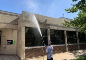 Commercial Building Cleaning services from PSI Pressure Washing. Call Today.