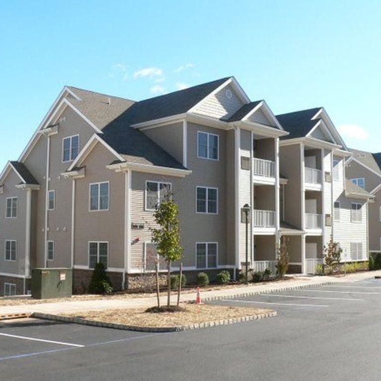 Gray Apartment Complex