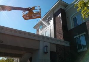 Building Washing from PSI Pressure Washing. Call Today